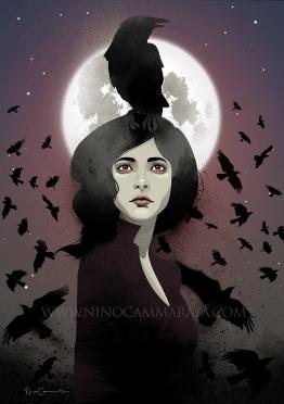lady-and-crows_©NinoCammarata