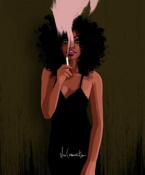 smoke girl2