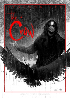 the crow poster etsy