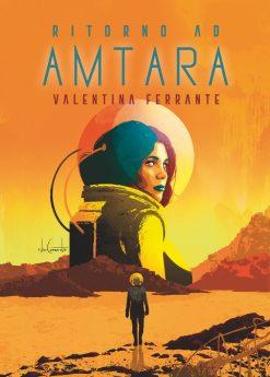 AMTARA_illustrazione di copertina e quarta + design intestazione nino cammarata