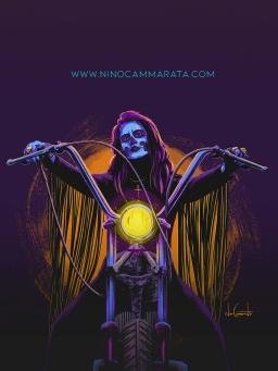 muerte biker_ small Nino Cammarata
